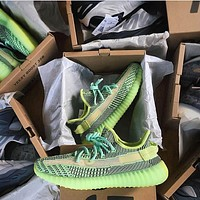 "Adidas Yeezy Boost 350 V2 ""Yeezreel Reflective"" casual fashion sneakersshoes"