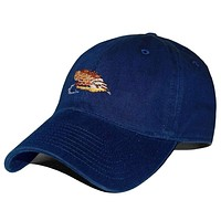 Dry Fly Needlepoint Hat in Navy by Smathers & Branson
