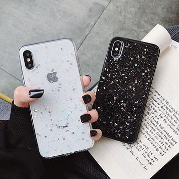 Glitter Sequins Silicone Phone Case For Apple iPhone 11 Pro 6 6s 8 7 Plus XR 10 X XS Max 5S