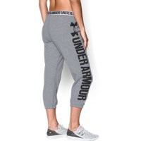 Under Armour Women's UA Favorite Fleece Word Mark Capris