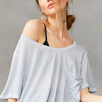 Silence + Noise Dorian Oversized Tee - Urban Outfitters