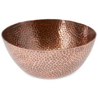 Thirstystone Hammered Copper Large Bowl   macys.com