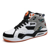 UNN Basketball Shoes Black Newest Sneakers EXCISE Fitness PU Leather Outdoor Sport Basket Boots Mens Shoes  Plus Size 39-46