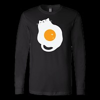 Pet - Egg-Cat - Long Sleeve T Shirt - TL00742LS