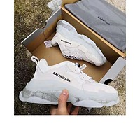 Balenciaga new retro transparent platform old shoes