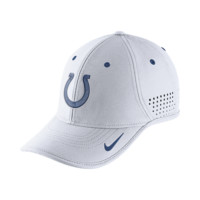 Nike True Vapor (NFL Colts) Adjustable Hat (White)