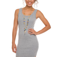 Hold The Line Dress - Grey