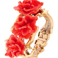 Coral Floral Bracelet | Lord and Taylor
