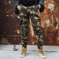 Military UK CP Outdoor Camouflage Cargo Pants Feet Locomotive Tactical Trousers Streetwear Men's Wild Sport Hunting Pants