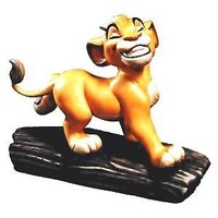 Wdcc Disney the Lion King Simba COA Ornament 11k 412560 Walt Disney Classics Collection Figurine