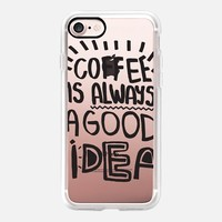 Coffee is always a good idea iPhone 7 Case by Vasare Nar | Casetify