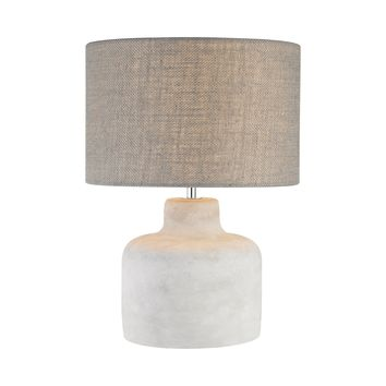 D2950 Rockport 1 Light Table Lamp In Polished Concrete
