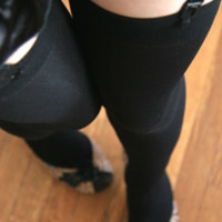 Solid Opaque Thigh High - Sock Dreams