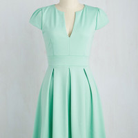 Meet Me at the Punch Bowl Dress in Mint