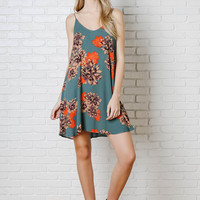 Lilia Floral Slip Dress