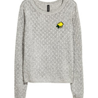 H&M Cable-knit Sweater $24.99