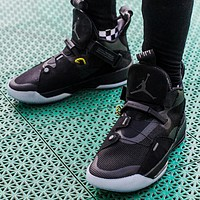 Air Jordan 33 New fashion sports leisure running couple shoes Black