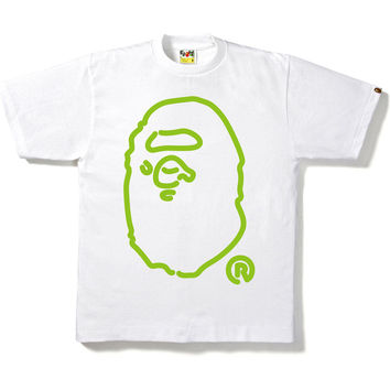 NEON BIG APE HEAD TEE