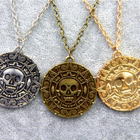 Aztec Coin Pendant Pirates of the Caribbean