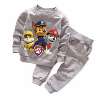 New Spring Autumn Boy's Girl's Clothing Sets Sport Pullover Set Fashion Kid 2pic Suits Set Toddler Striped Tracksuit baby