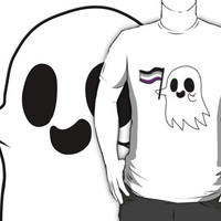 Asexual Pride Ghost