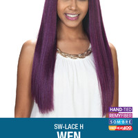 Zury SIS SW-H Wen Lace Front Natural Yaky Texture Wig