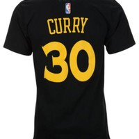 adidas Men's Stephen Curry Golden State Warriors Player T-Shirt | macys.com