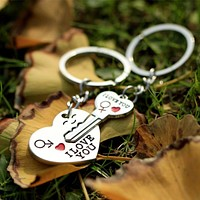 I Love You Heart Key-Chains