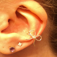 Bow Ear cuff 14 colors available