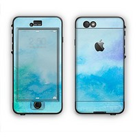 The Subtle Green & Blue Watercolor V2 Apple iPhone 6 LifeProof Nuud Case Skin Set