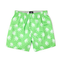 HUF - PLANTLIFE BOXERS FALL14 // LIME / WHITE