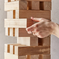Giant Jumbling Tower Game | Urban Outfitters
