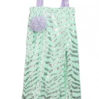 Mint Supersoft Spa Wrap with Loofah