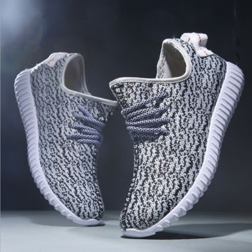 Gray Sports Running Shoes