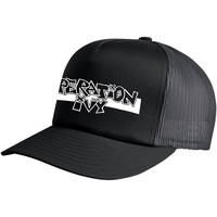 Operation Ivy Men's  Logo Black Trucker Cap Black Rockabilia