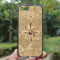Harry Potter Marauders Map,Compass,iphone 4 case,iPhone4s case, iphone 5 case,iphone 5c case,Gift,Personalized,water proof