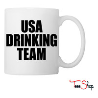 USA Drinking Team Coffee & Tea Mug