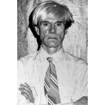 """Andy Warhol Poster Black and White Poster 16""""x24"""""""