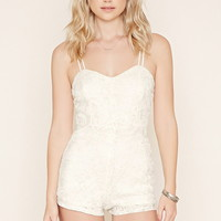 Lace Cami Romper | Forever 21 - 2000187029