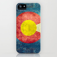 Colorado State Flag iPhone & iPod Case by Bruce Stanfield