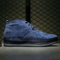 UGG Fashion boots for men shoes waterproof Martin boots Sapphire G-A0-HXYDXPF