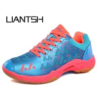 Professional Badminton Shoes For Men Women Badminton Sneakers Lefusi Couples Badminton Sneaker Indoor Sport Tennis Shoes