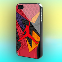 Jordan Air Retro Raptors Print on cover for iPod case. Select an option for device and colour