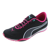 Puma Womens Asha Mesh Contrast Trim Signature Athletic Shoes