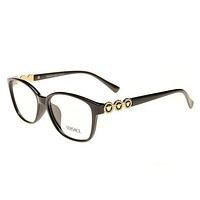 Tagre™ Versace Women Edgy Optical Clear Lens Fashion Brand Designer Eyeglasses Glasses