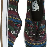 VANS AUTHENTIC LO PRO SHOE | Swell.com / Aztec/ Tribal