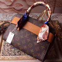 Louis Vuitton Brown Canvas Etoile Shoulder Bag 5487