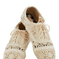Creamery of the Crop Flat | Mod Retro Vintage Flats | ModCloth.com
