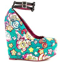Iron Fist - Over The Rainbow Women's Wedge Shoes