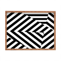 Three Of The Possessed Dazzle Uptown Rectangular Tray